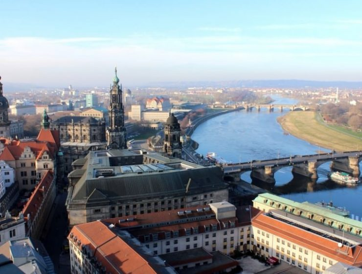 Aussicht Dresden