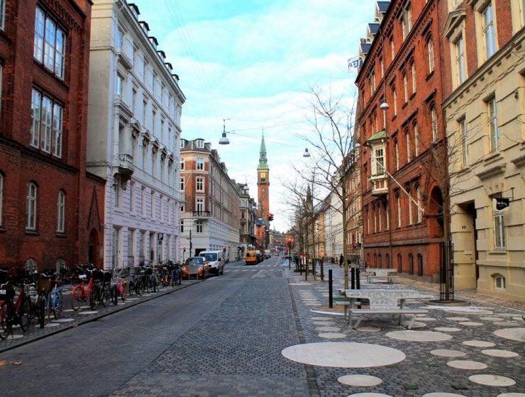 Kopenhagen huebsche Strassen