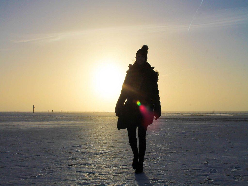 Reisebloggerin an der Nordsee