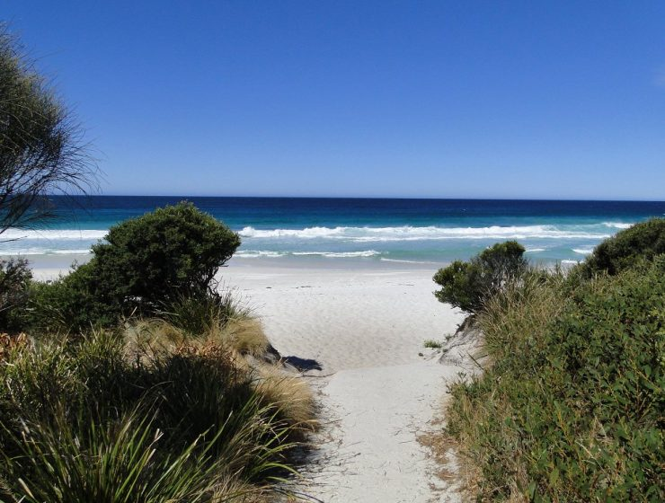 Traumstrand Bay of Fires