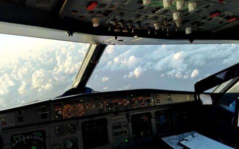 Aussicht Cockpit