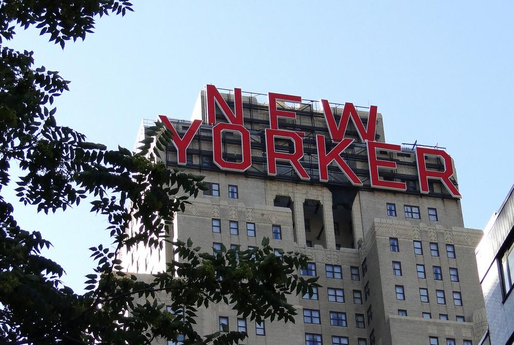 New Yorker Zeichen