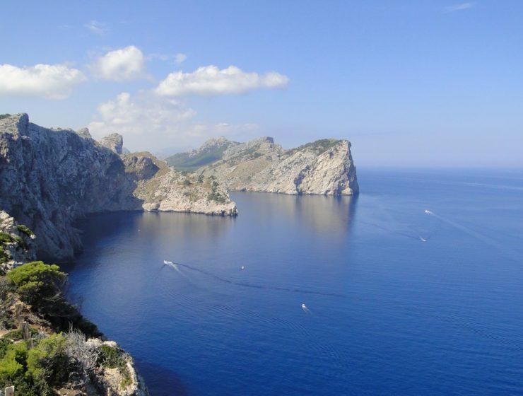Cap Formentor Mallorca Aussicht