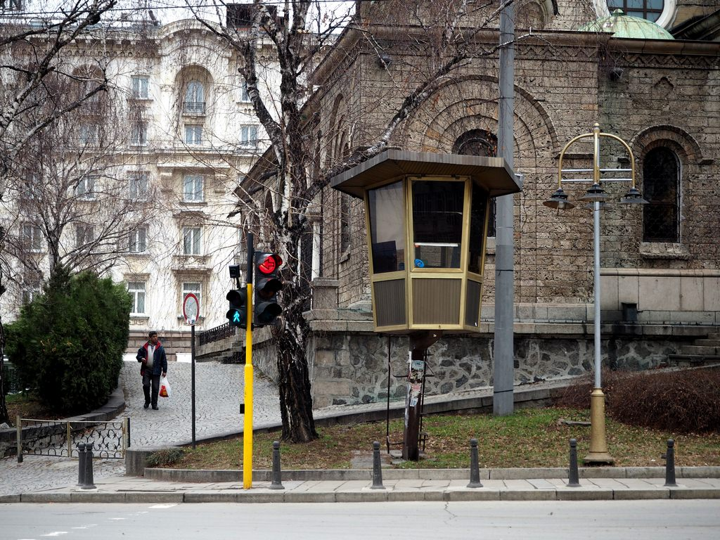 Komische Ampfelhaeuser in Sofia