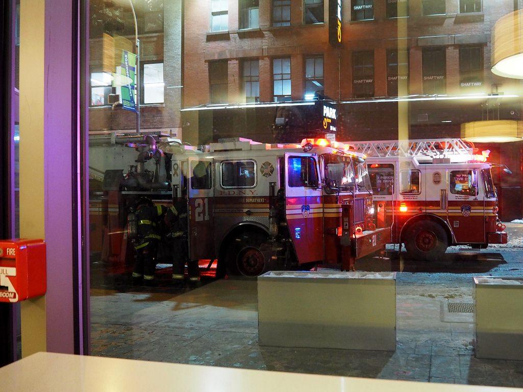 Pech auf Reisen Feueralarm
