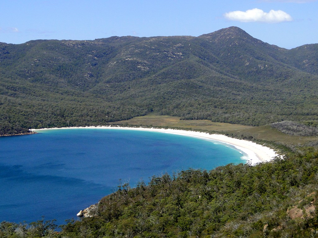Wineglass Bay vom Lookout