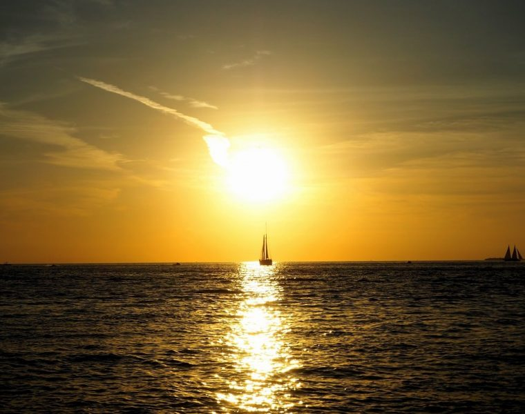 Beruehmter Sonnenuntergang Key West