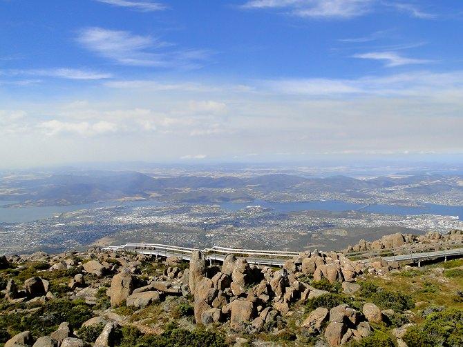 Aussichtspunkt über Hobart