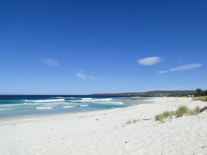 Die Bucht des Feuers Tasmanien
