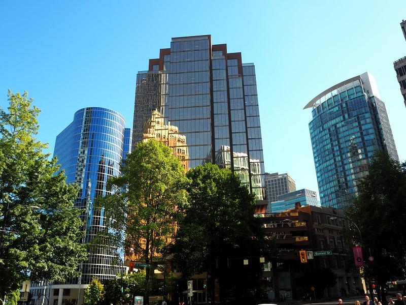 Wolkekratzer Downtown Vancouver