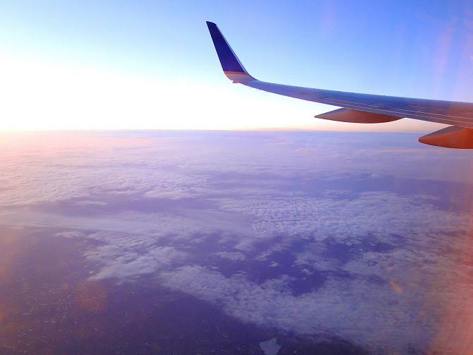 Aussicht Flugzeug