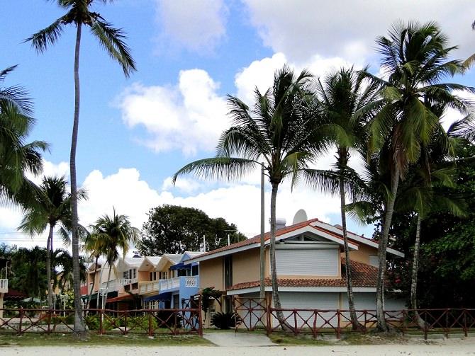 Bunte Haeuser Karibik