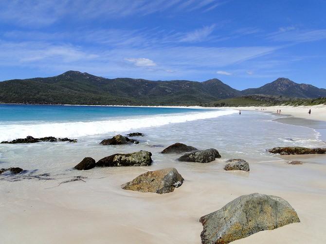 Wineglass Bay Tasmanien