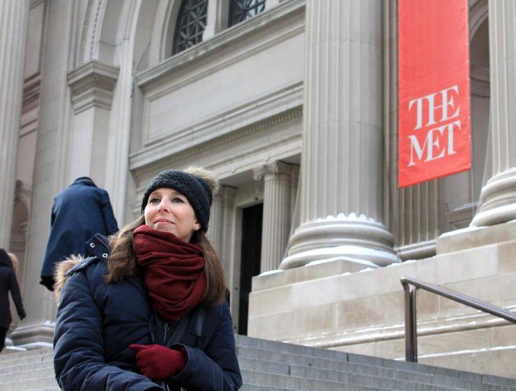 MET Steps Gossip Girl Drehort in New York