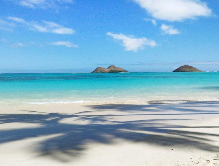 Lanikai Strand Hawaii Strandliebe