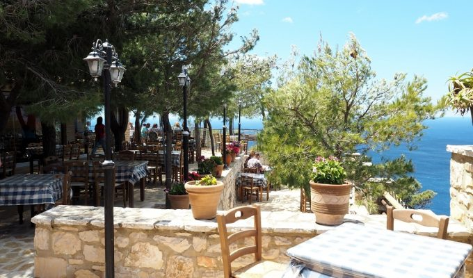 Griechische Küche auf Zakynthos